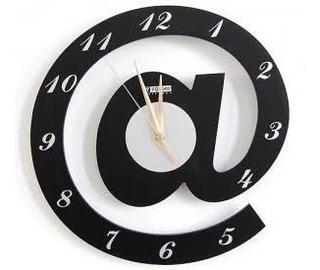Relógio De Parede Arroba Internet Pc Computador Lindo!!