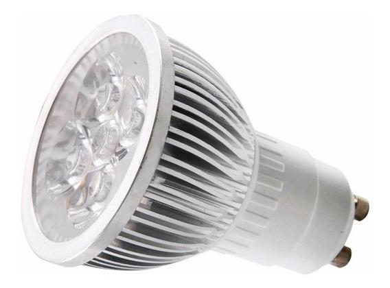 5 Lâmpada Led Dicróica Gu10 6w 110v Dimerizavel Luz Quente