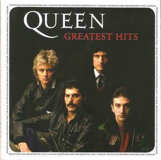 Cd Queen - Greatest Hits Nuevo Y Sellado Obivinilos