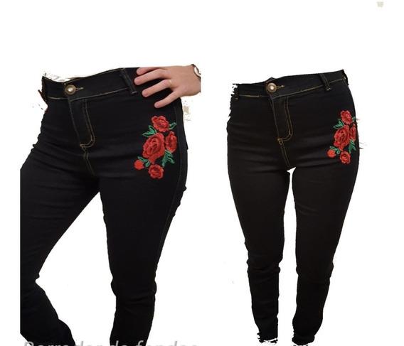 Pantalón Jean Mujer Chupin Elaztisado Excelente Calidad