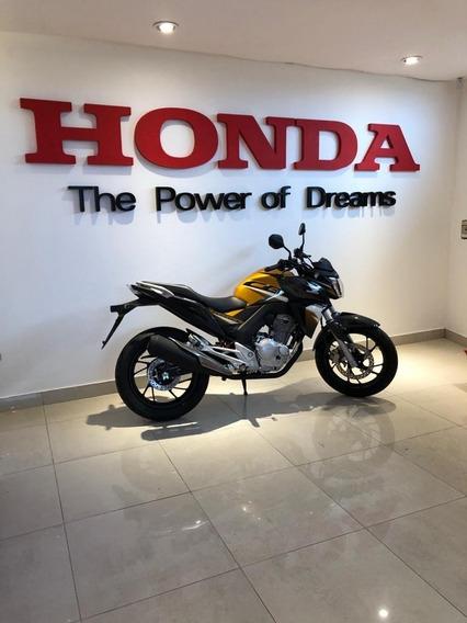 Honda Cb 250 Twister 2020 Okm Financia 12/18 C/tarj Entre Ya
