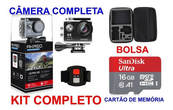 Câmera Esportes De Ação Ultra Akaso Ek7000 4k Wi-fi