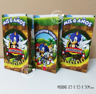 Tarjetas De Cumpleaños Sonic En Mercado Libre Argentina