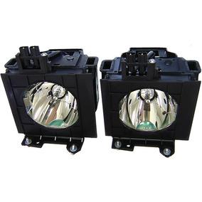 Lâmpada Para Projetor Panasonic Et-lad55w - Kit Com 2 Un.