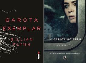 Livro Garota Exemplar + Garota No Trem