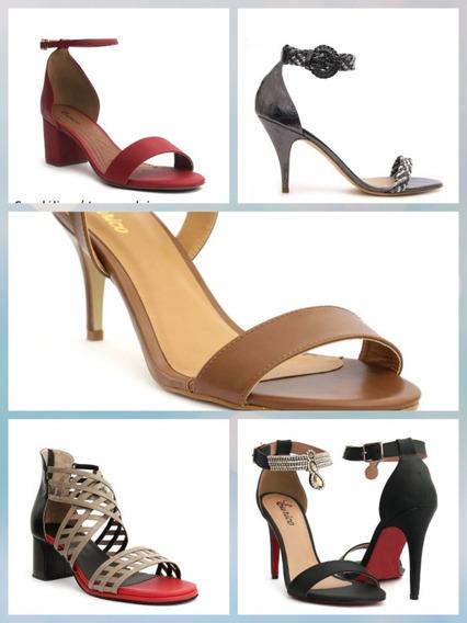 Sapatos Feminino De Tamanhos Especiais, De Numeração 41 A 43