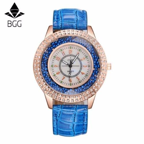 Relógio Feminino Importado Cmk Cristal Prova D
