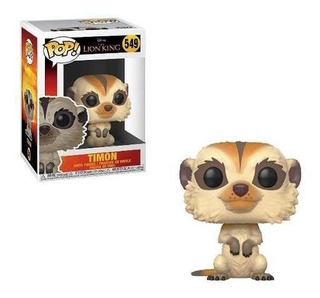 Muñeco Funko Pop Timon 549 Rey Leon Disney Original