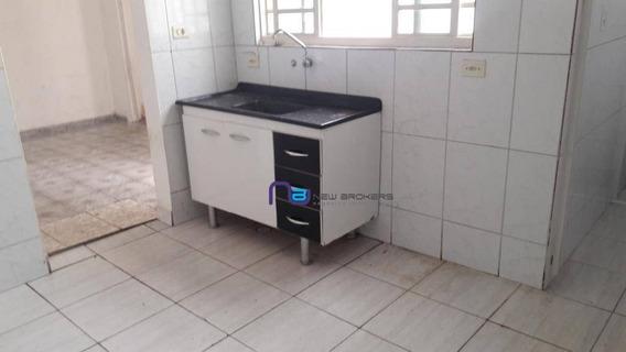 Casa Com 1 Dormitório Para Alugar, 45 M² Por R$ 750/mês - Vila Aricanduva - São Paulo/sp - Ca0483