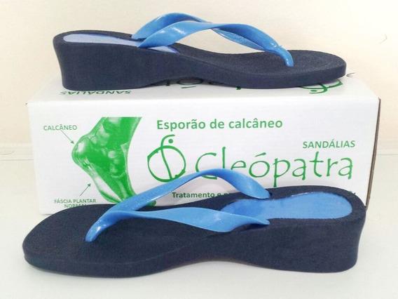 Kit 02 Sandálias Ortopédicas Cleópatra Em 12x S/juros!