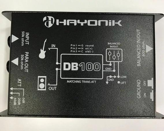 Direct Box -- Di -- Passivo -- Hayonik Db100 -- Envio Rápido