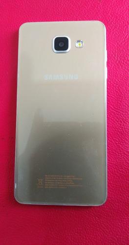 Celular Samsung Galaxy A5 2016 Sm-a510m Dourado 16gb Usado