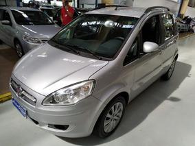 Fiat Idea 1.4 Attractive Prata Completa 2014 Baixa Km