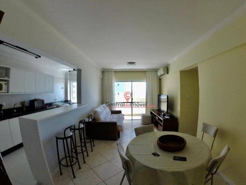 Apartamento Com 2 Dormitórios Para Alugar, 85 M² Por R$ 680,00/dia - Centro - Balneário Camboriú/sc - Ap1801