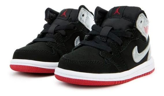 Air Jordan 1 Mid Silver Baby