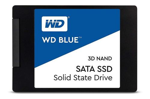 Disco Sólido Ssd 500gb Western Digital Blue 3d Nand - 2.5'