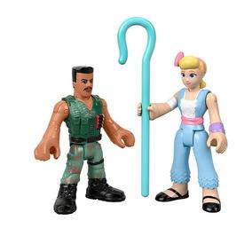 Conjunto Mini Boneco Basico Toy Story 4 - Combat Carl E Bo P