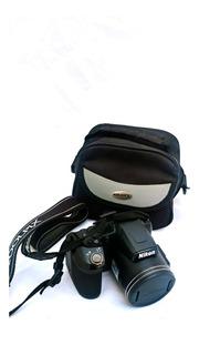 Camara Nikon Coolpix L840 Como Nueva Full Hd 1 Uso