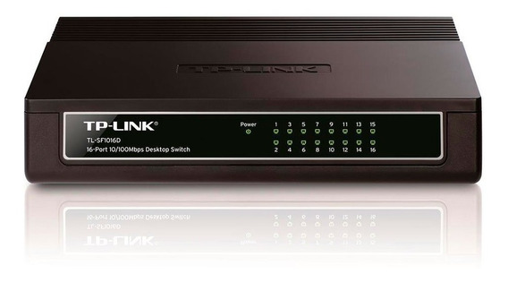 Switch 16 Portas 10/100mbps P-link Tl-sf1016d