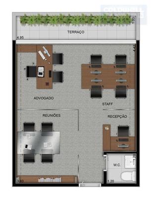 Sala Comercial Para Locação, Vila Moreira, Guarulhos. - Codigo: Sa0047 - Sa0047