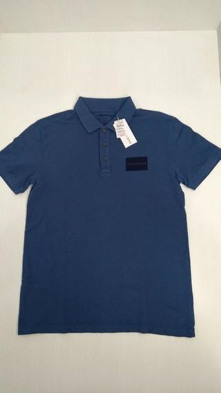 Camisa Polo Masculino Calvin Klein Original