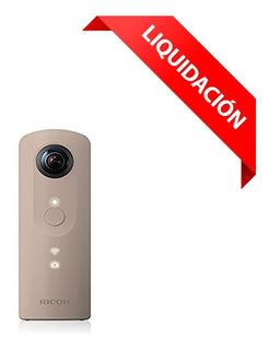 Camara Fotográfica Ricoh 360 Video Y Foto Theta Sc Beige