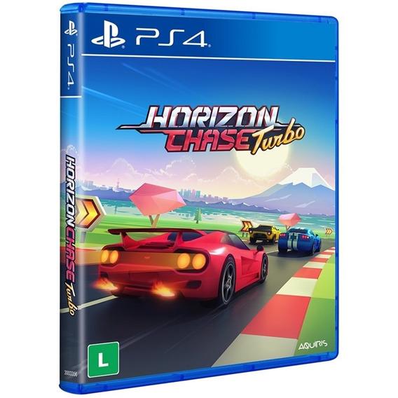 Jogo Horizon Chase Turbo Ps4 Midia Física Original Nacional