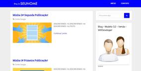 Criar Um Blog - Criar Meu Blog - Completo - Entrega Imediata
