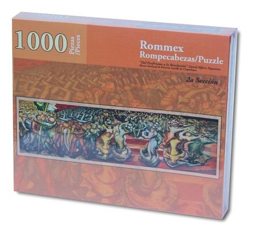 Rompecabezas De 1000 Piezas: Mural Del Porfirismo 2a Sección
