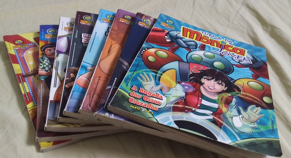 Lote De 8 Revistas Turma Da Mônica Jovem 1°edição