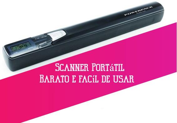Scanner Portátil De Mão Ótima Resolução