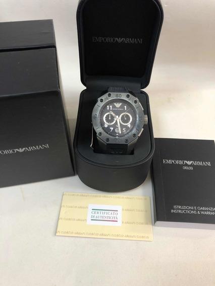 Relógio Emporio Armani Ar0665 Com Caixa E Garantia
