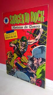 Hq Epopéia Ebal/1967 Sargento Rock Nº4 Histórias De Guerra !