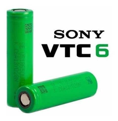 Imagen 1 de 5 de Sony Vtc6 18650 Baterias Litio Original Para Vaporizador Etc