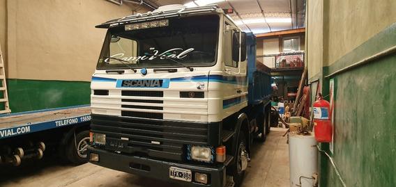 Scania R112 H 6x2 S 34 Volcador Balancin