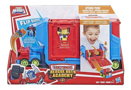 Imagem 1 de 1 de Playskool Transformers Optimus Prime Lançador Hasbro E3285