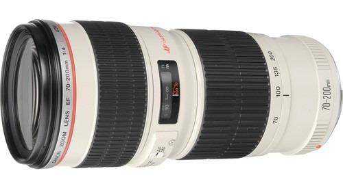 Lente Canon Ef 70-200mm F/4l Usm - Lacrada Na Caixa Com Nf