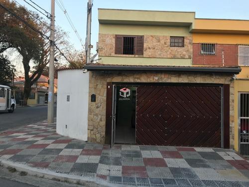 Imagem 1 de 17 de Sobrado À Venda, 4 Quartos, 2 Suítes, 2 Vagas, Metalúrgica - Santo André/sp - 74548