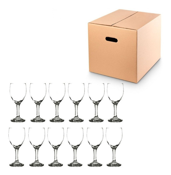 Pack 12 Copas Agua Vino Champagne Windsor Cristar Aragon