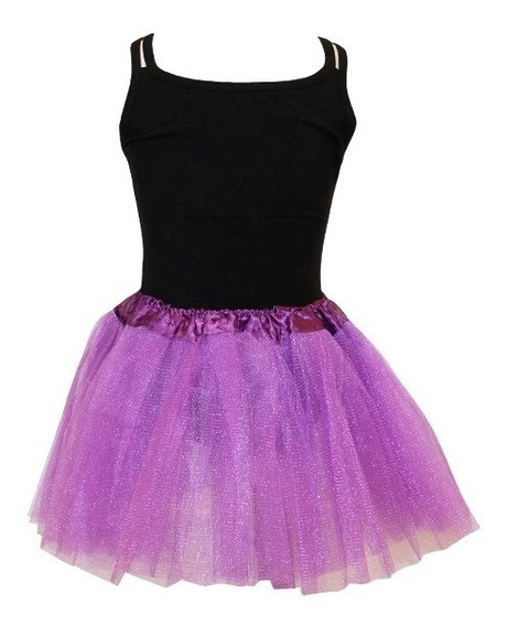 Tutú Glitter Para Niñas De Varios Colores. Oferta