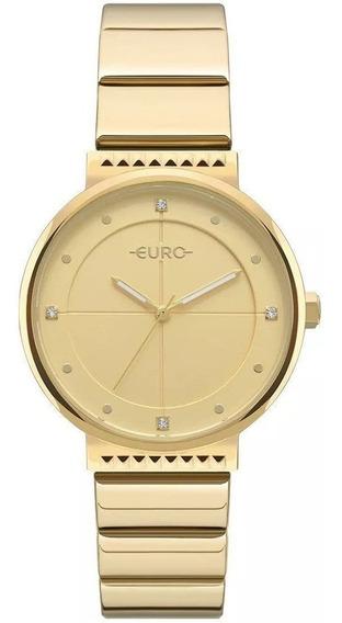 Relógio Euro Feminino Spike Slim Eu2035yoa/4d