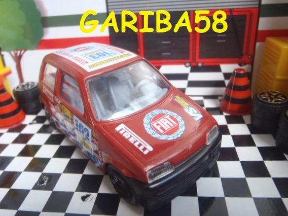R$40 No Lote Burago Fiat Cinquecento 1/43 Made In Italy G58