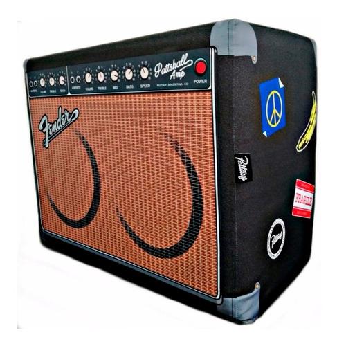 Puff De Diseño Amplificador Fender Decoración