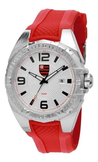Relógio Technos Masculino Flamengo Flaint2315aa/8r Vermelho