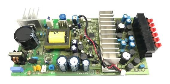 Placa Saída De Audio Gradiente Hts-520 Pcl638 Rev.a