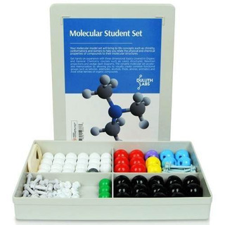 Kit De Estudiante Molecular 54 Átomos-70 Partes - Mm-003