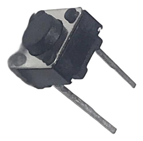 Imagen 1 de 5 de 50 Unidades  Touch  Tact Switch 4.3mm 2 Patas Electronica