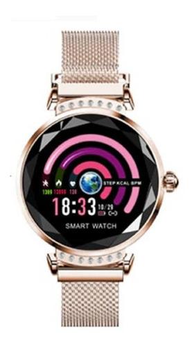 Imagem 1 de 10 de Relogio Smartwatch H2  Feminino  Com Bluetooth