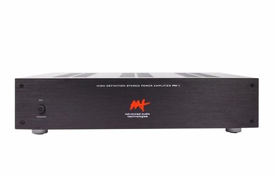 Amplificador De Potencia Aat Pm-1 (2x 70w) Rms Bi-volt