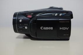 Câmera De Vídeo Hd Canon Vixia Hv40 (preço Reduzido)